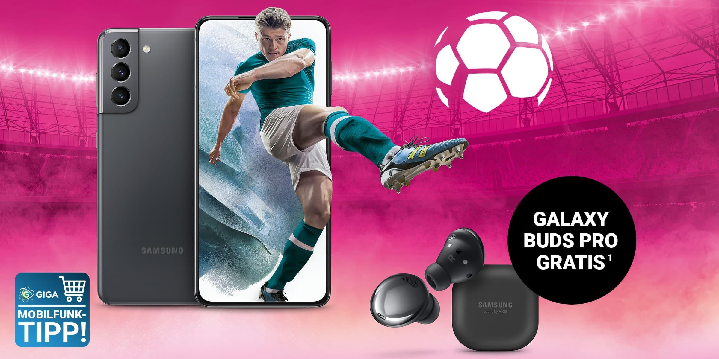 S21 für 1 Euro: Telekom startet den Fußball-Sommer