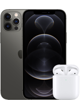 iPhone 12 Pro mit Airpods