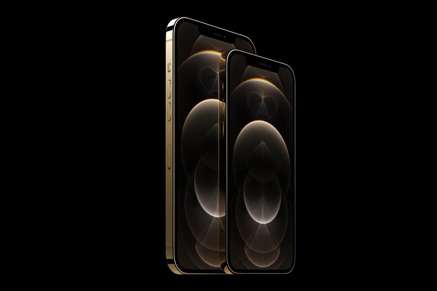 iPhone 12 Pro und 12 Pro Max im Größenvergleich.