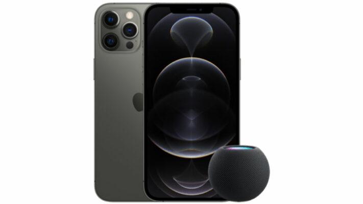 Apple iPhone 12 Pro Max mit HomePod mini + o2 Free M Boost mit 40 GB
