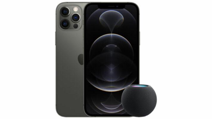 Apple iPhone 12 Pro mit HomePod mini  + o2 Free M Boost mit 40 GB