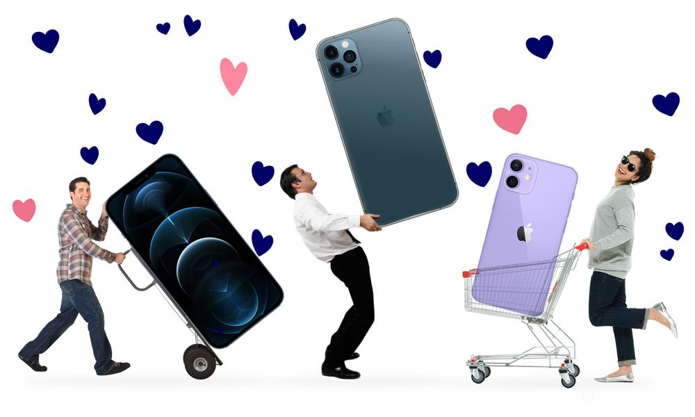 iPhone 12 für wenige Tage im Ausverkauf