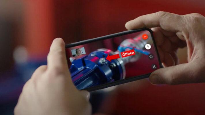 Kundenservice via Augmented Reality