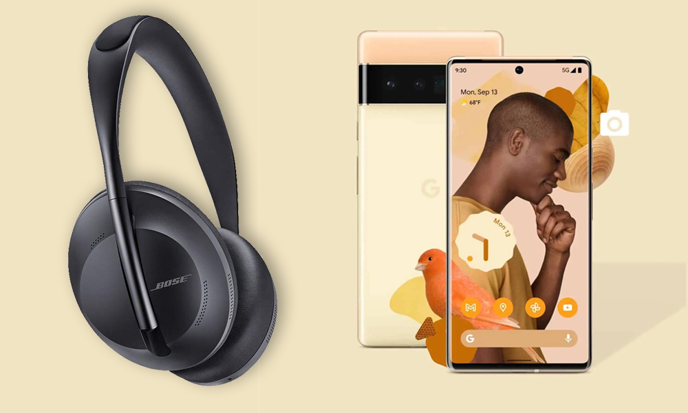 Google-Smartphone: Pixel 6 mit Gratis-Bose-Kopfhörern und 700 Euro Ersparnis
